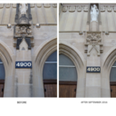 Outside Church Cleaned before & after shots photo album thumbnail 2